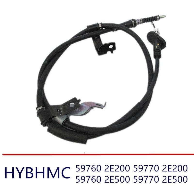 2PCS Parking Brake  Brake Cable Rear Left fits for hyundai Tucson 2005-2009 2WD 4WD 597602E200 597702E200 597602E500 597702E500