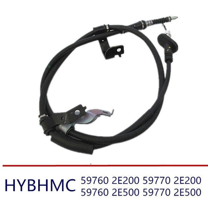 2PCS Parking Brake  Brake Cable Rear Left fits for hyundai Tucson 2005-2009 2WD 4WD 597602E200 597702E200 597602E500 597702E500 - Go Buy Dubai