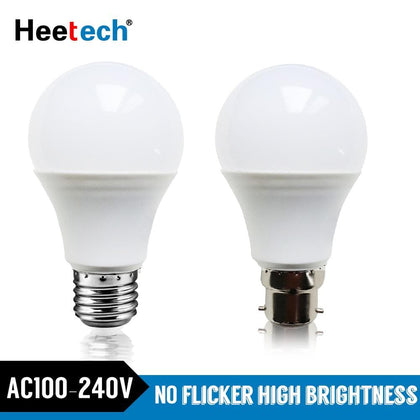 LED Bulb E27 B22 LED Lamp 3W 5W 7W 9W 12W 15W 18W B22 Lampada Bombilla 220V 230V 240V Cold/Warm White Led Led Light Blubs Lamps - Go Buy Dubai