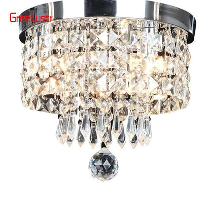 AC110V-240V Led Crystal Chandelier Ceiling Lamp Plafon Lustre For Entrance Kitchen lights Chandeliers Fixtures Home Decor - Go Buy Dubai