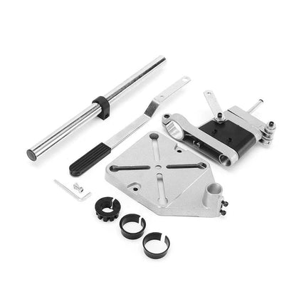 ALLSOME Electric Drill Bracket 400mm Drilling Holder Grinder Rack Stand Clamp Bench Press Stand Clamp Grinder for Woodworking - Go Buy Dubai