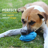 EASTBLUE Squeaky Dog Toys for Aggressive Chewers (bule)