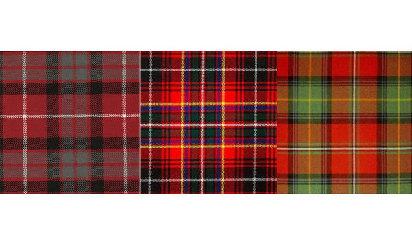 Our favourite tartans for Autumn!