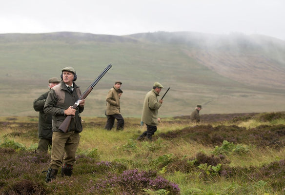 Shooting season in Scotland