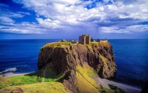 A step back in time - Dunnottar Castle