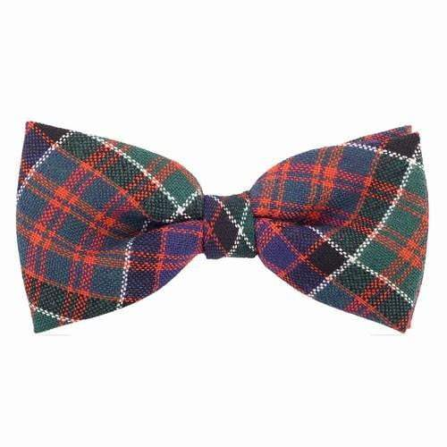 Men's Tartan 100% Wool Bow Tie - Made to Order