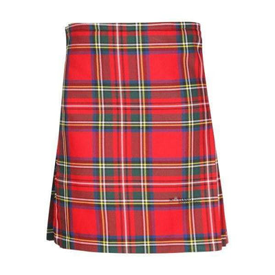 Kids Casual Polyviscose Kilt - Royal Stewart