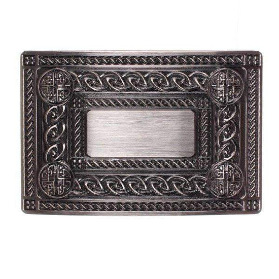 Children's 4 Dome Design Belt Buckle - Antique Finish