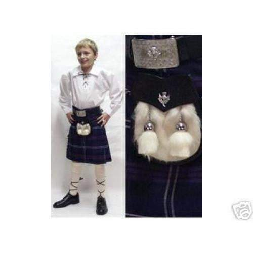 Childrens Six Piece Kilt Outfit
