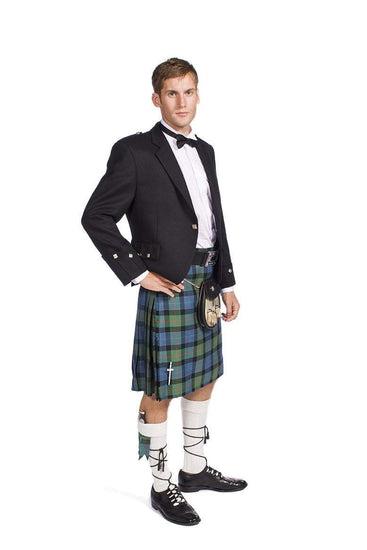 Traditional Argyle Jacket Kilt Outfit with 16 oz 8 yard handmade kilt
