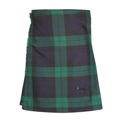 Kids Casual Polyviscose Kilt - Black Watch