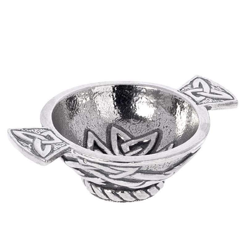 1.75'' Quaich - Celtic Angles Design
