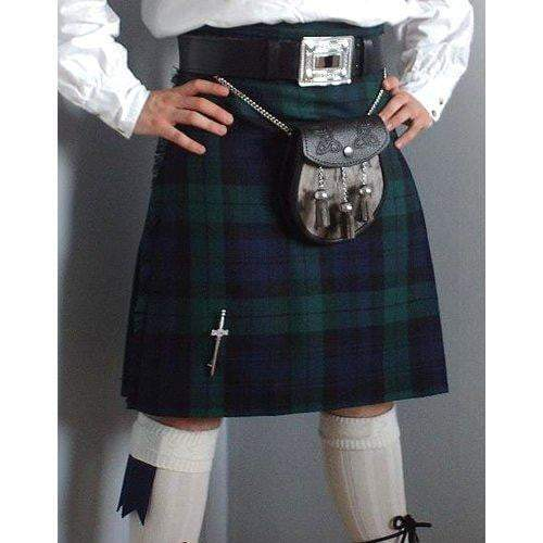 Men's Kilt, 10oz, 5 Yard, 100% Wool, Traditional Hand Made