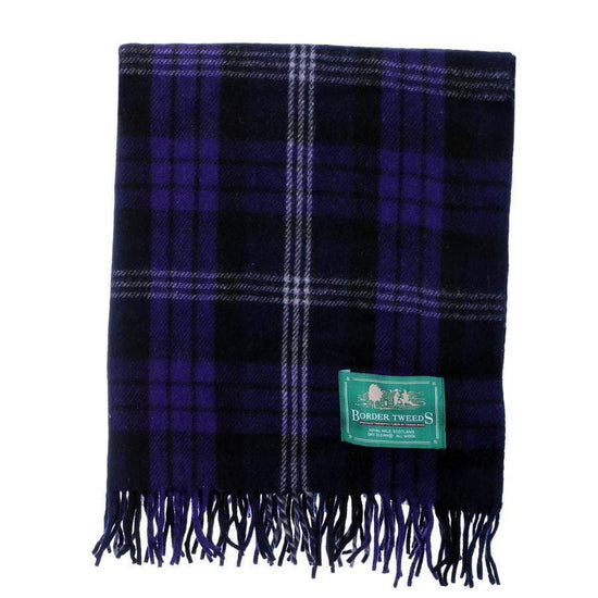 Wool Tartan Knee Rug - Scottish Heritage
