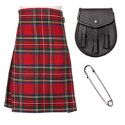 3 Piece Bronze Kilt Package - Including 5 Yard Kilt, Sporran and Kilt Pin