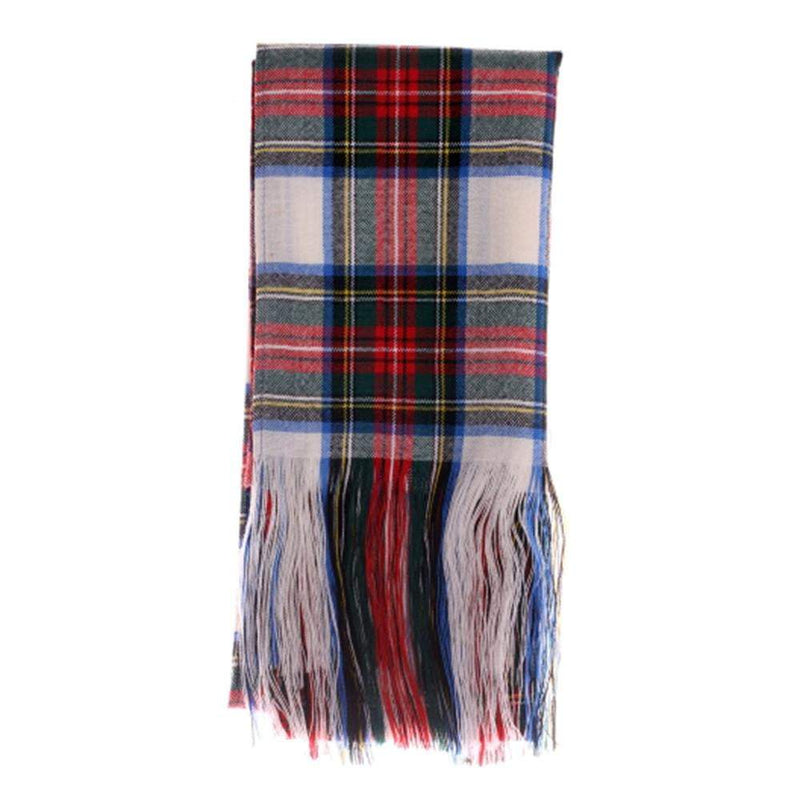 100% Wool Tartan Sash - Stewart Dress Modern