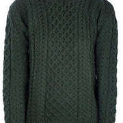 Mens Merino Wool Crew Neck Sweater by Aran Mills - 7 Colours