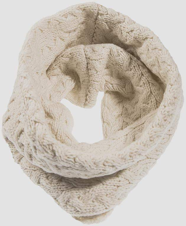 Ladies Supersoft Merino Wool Full Circle Scarf by Aran Mills - 11 Colours