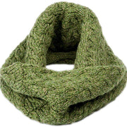 Ladies Merino Wool Full Circle Scarf by Aran Mills - 9 Colours
