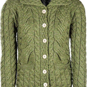 Ladies Six Button Cardigan by Aran Mills - 6 Colours