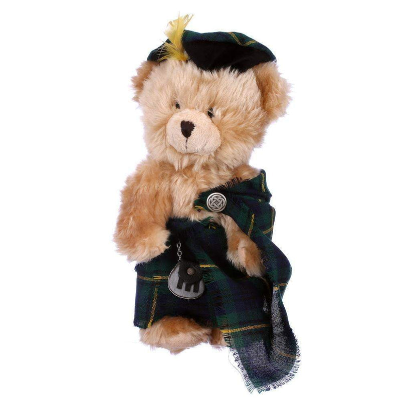 Hand Made Plush Highlander Teddy Bear in 500 Tartans - Made to Order