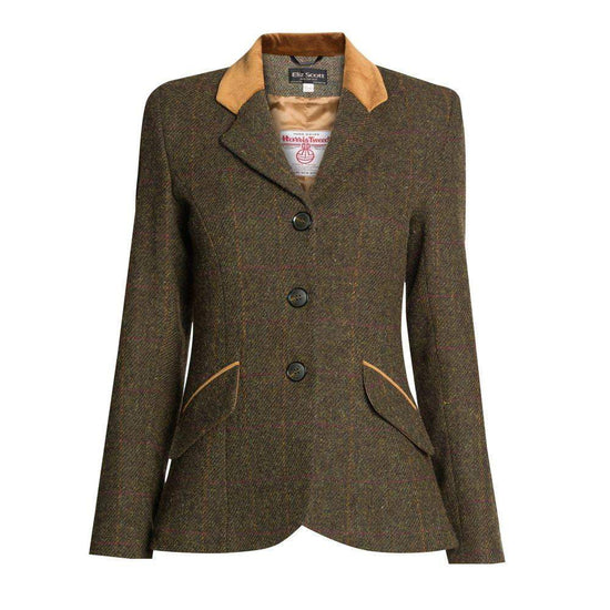 Ladies Harris Tweed Jacket - Grace