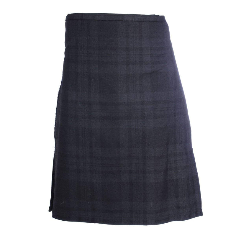 Men's 8 Yard Kilt - 100% 13oz Wool - Black Isle - Instock