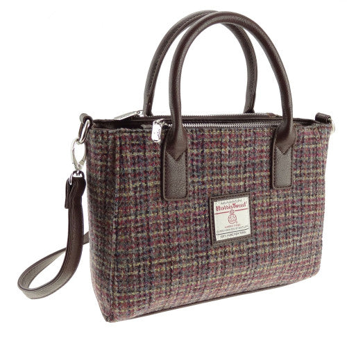 Harris Tweed Small Tote Bag - Brora - 12 Colours
