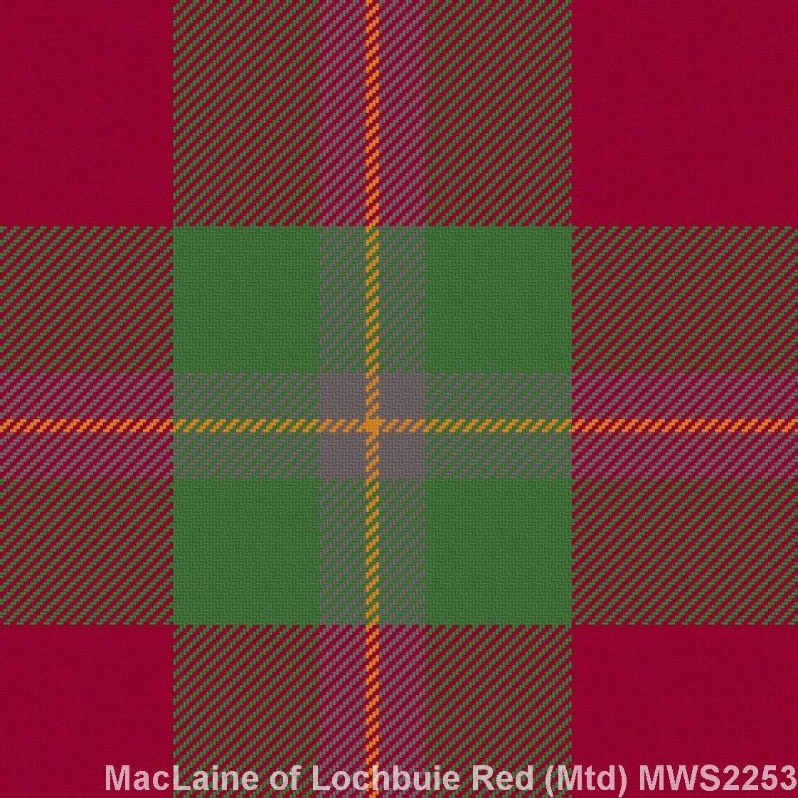 MacLaine of Lochbuie Red Muted