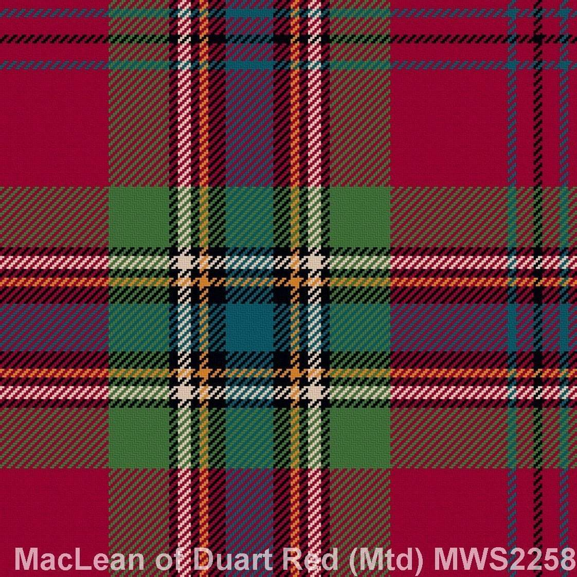 MacLean of Duart Red Muted