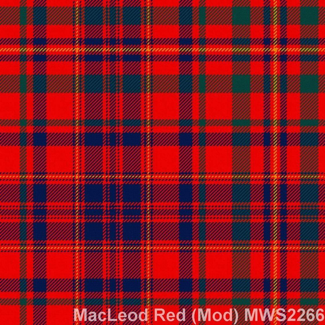 MacLeod Red Modern