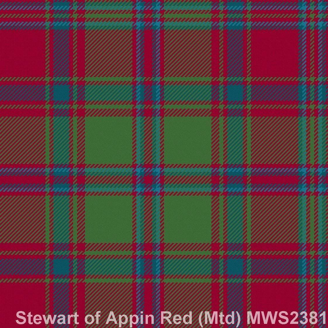 Stewart of Appin Red Muted