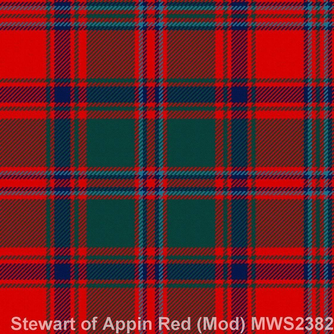 Stewart of Appin Red Modern