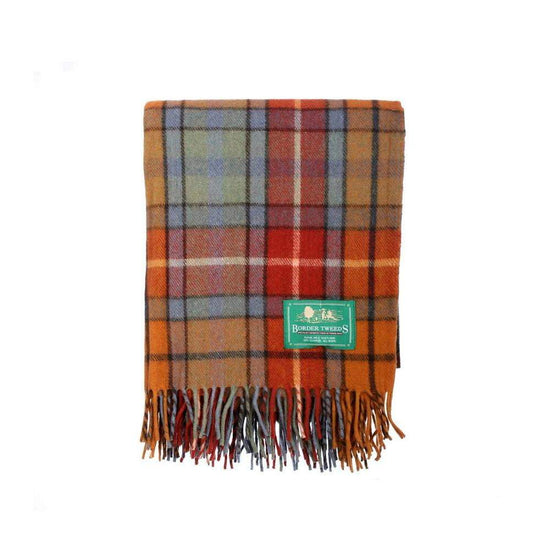 Wool Tartan Rug - Buchanan Antique