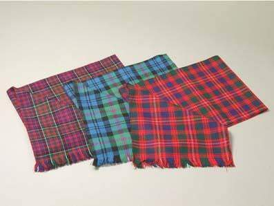 Tartan Scarf, Made to Order in 500 Tartans