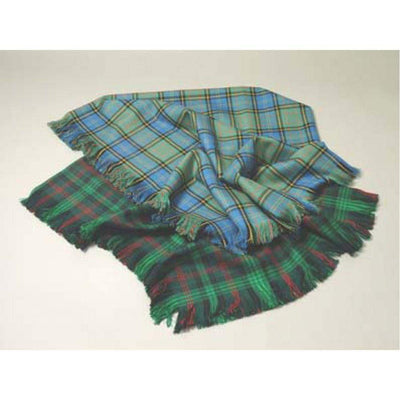 100% Wool Tartan Shawl - Made to Order