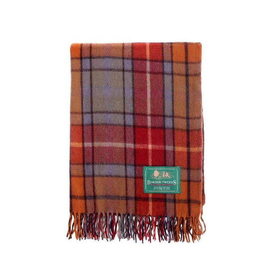 Wool Tartan Knee Rug - Buchanan Antique