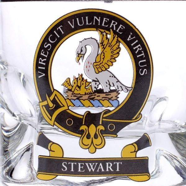 Clan Crested Whisky Tumbler - Made to Order