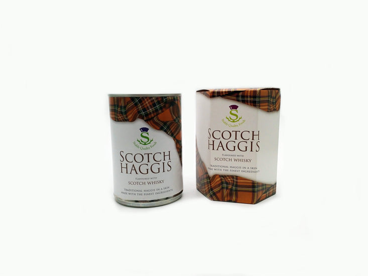Traditional Tinned Scotch Haggis with Whisky