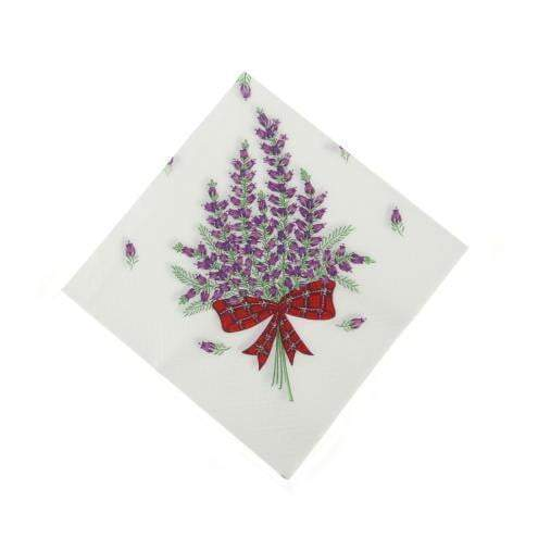 Heather Napkins Serviettes (Pack of 20)