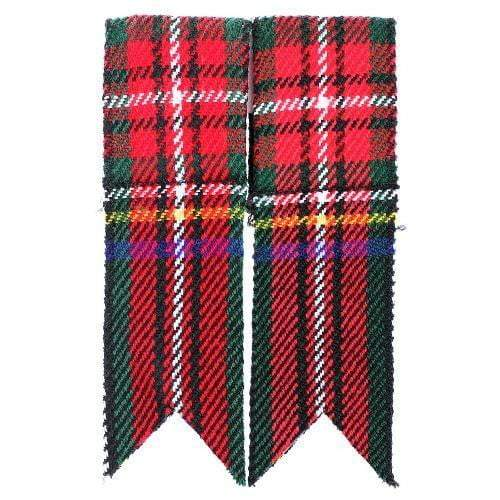 Acrylic Tartan Flashes - Black Stewart
