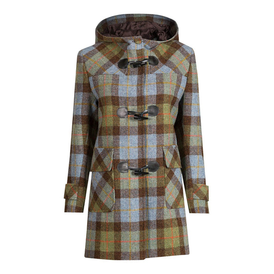 Ladies Harris Tweed Duffle Coat in MacLeod