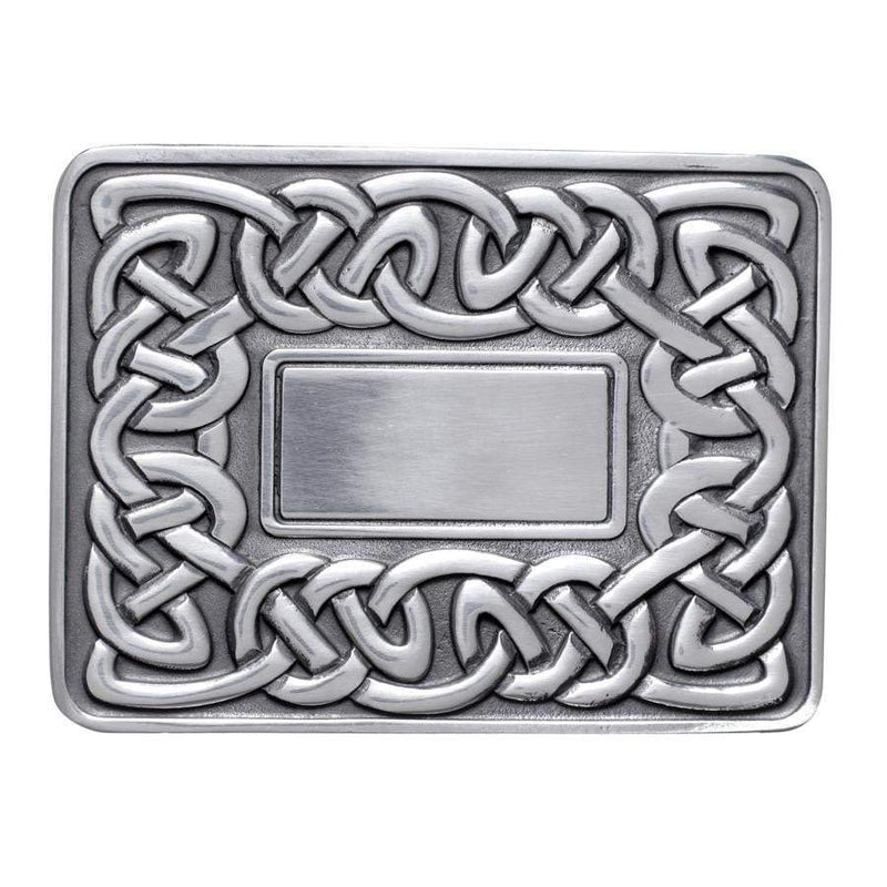 Viking Knot and Mirror Buckle
