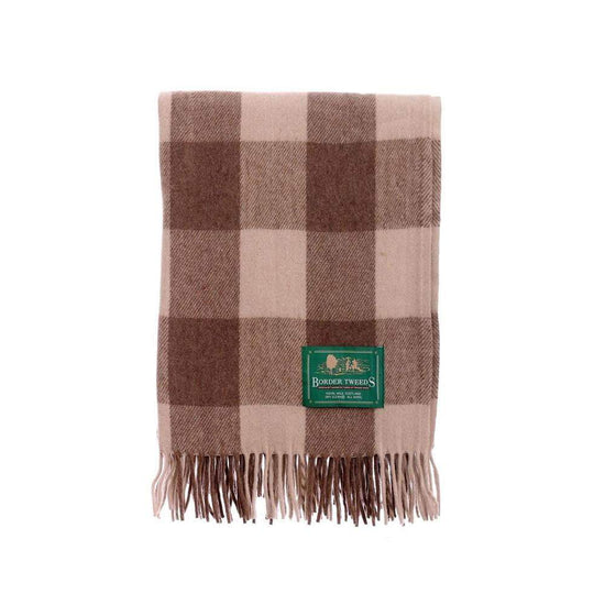 Wool Tartan Knee Rug - Jacob