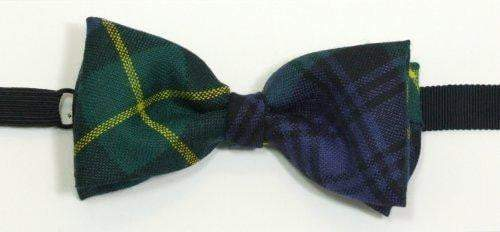 Boy's Tartan 100% Wool Bow Tie - Made to Order