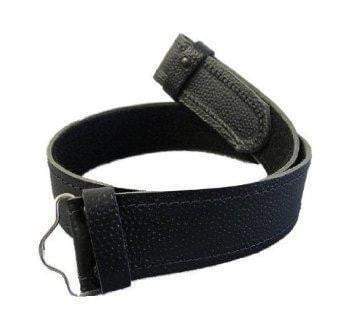 Childrens Black Kilt Belt - One Size