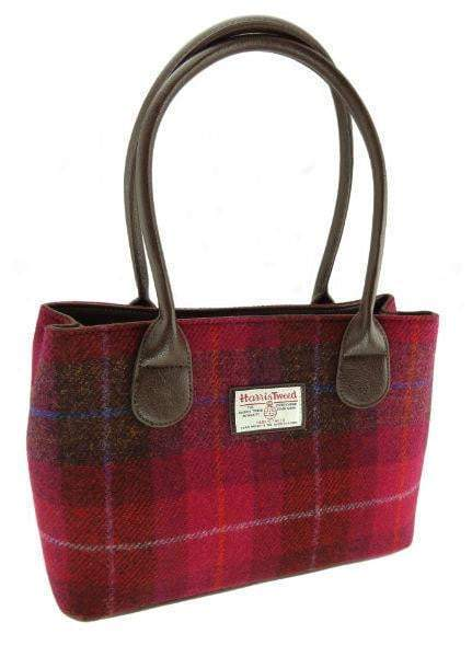 Harris Tweed Large Cassley Handbag - 20 Colours