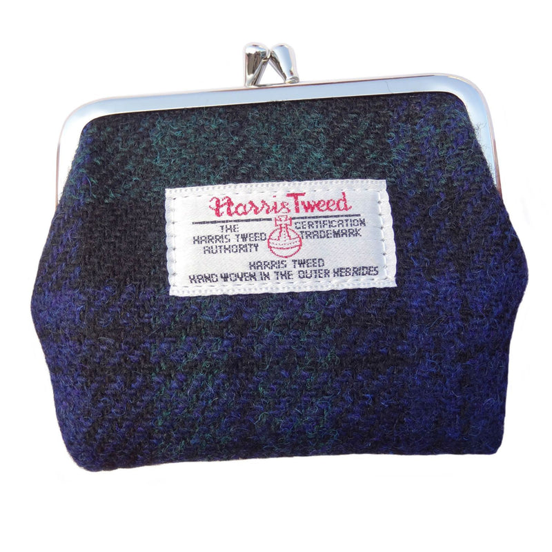 Harris Tweed Clasp Coin Purse - Eigg - 9 Colours