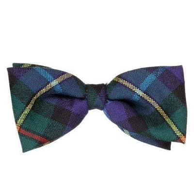 100% Wool Tartan Bow Tie - MacLeod of Harris Modern