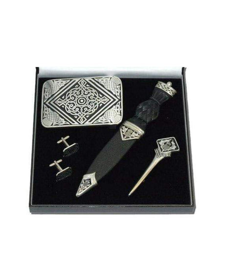 Pewter Accessory Box Set